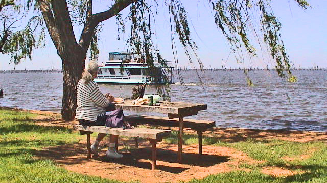Picknick am Lake Mulwala